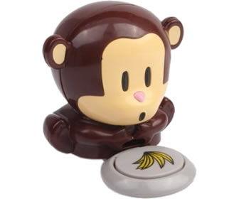 Scimmietta asciuga unghie